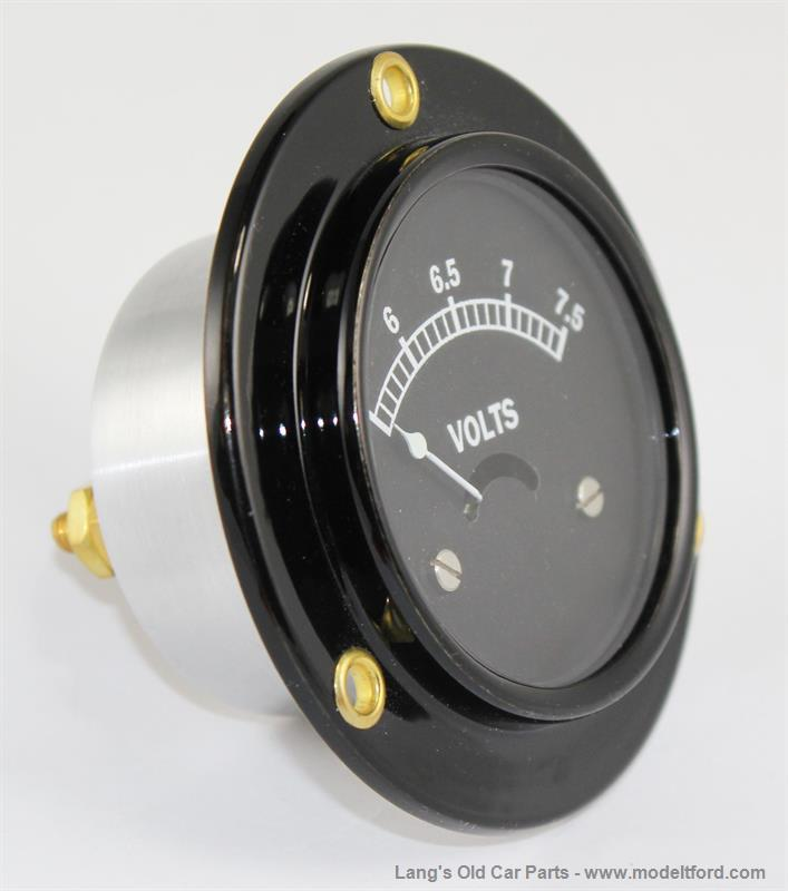 Model T Voltmeter  6 Volt  For Use With An Alternator  5016