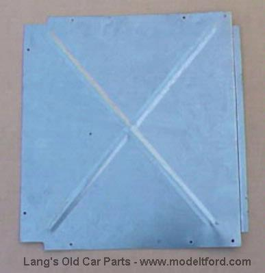 Model t coupe trunk floor panel opposite battery s144a for Opposite of floor