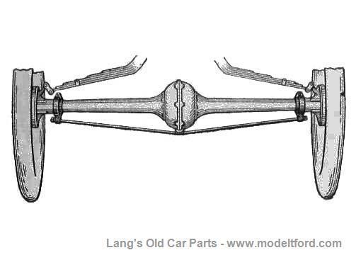 model t rear axle accessory truss support assy   2500tr