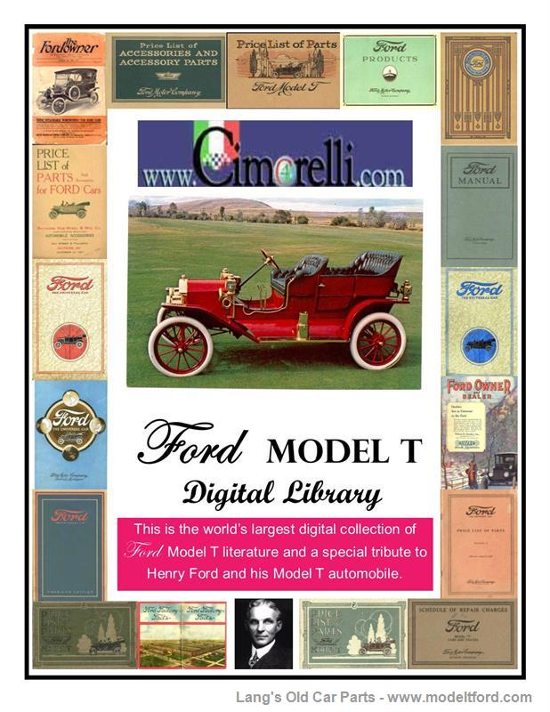 DVD Digital Library of Model T Literature. Compiled by MTFCI., DL001