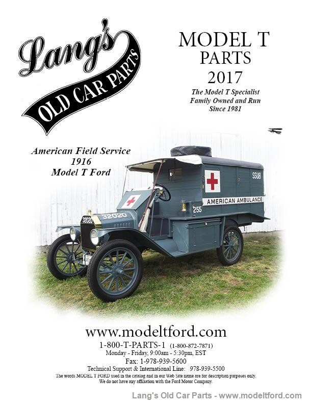 Model T 2017 Lang S Old Car Parts Catalog Catalog