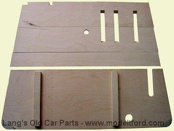 Model T Front Floorboards For Roadster And Touring