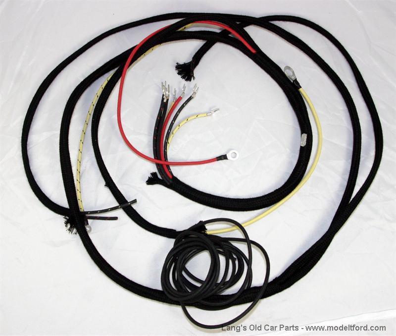 Model T Lighting Wire Harness   8 Wire   Original Style  5041e