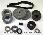 Model T Felt set, complete set for motor and chassis - 2500FS