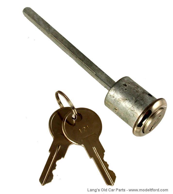 Model T Door Lock With Key, Closed Cars, 7023DL