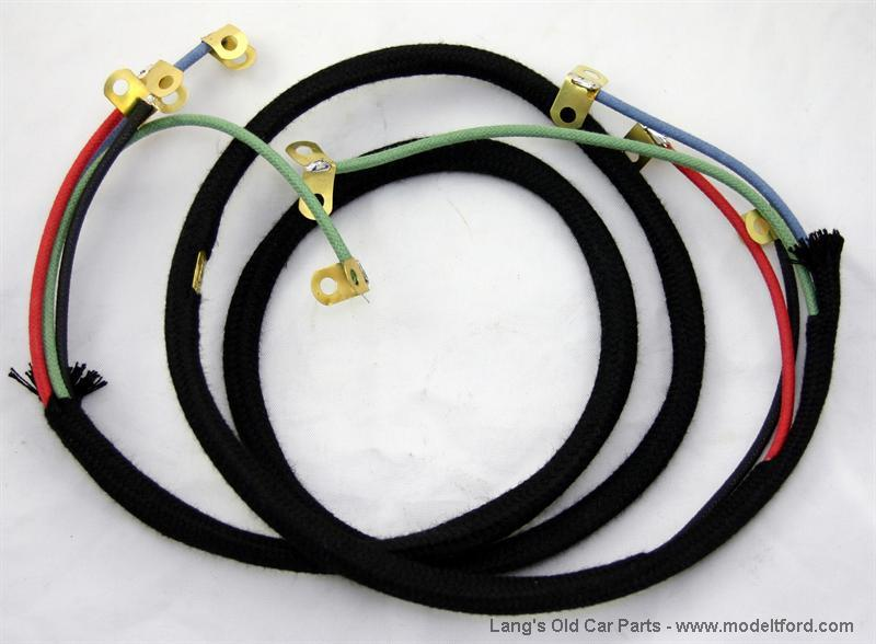 Wiring Harness Sleeve : Model t commutator wire harness not original