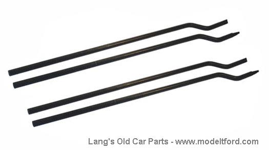 model t touring side curtain rods  set of 4  7831rod2