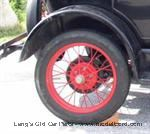 2881 - Wire Wheel, Original style Model T wire wheel.