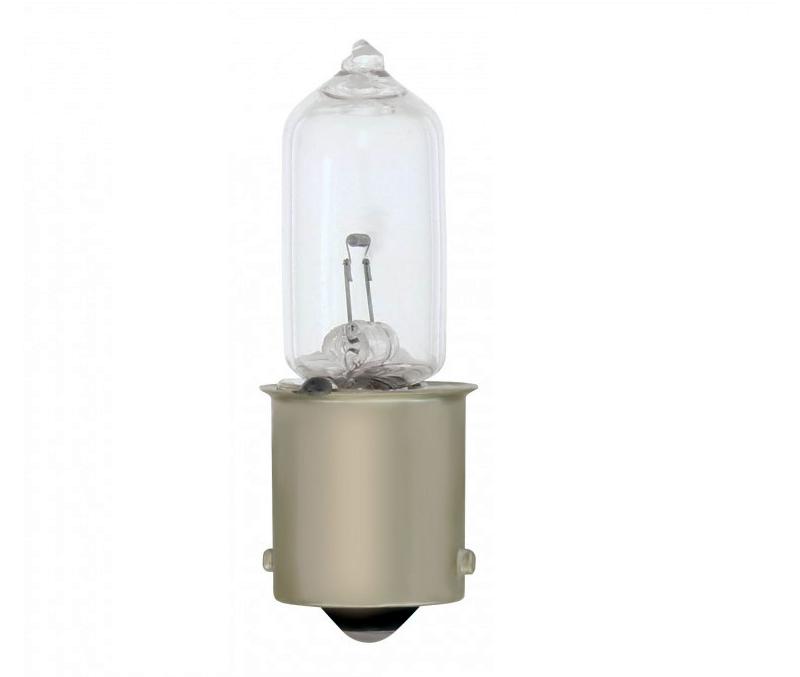 Model T Halogen Tail Lamp Bulb 20 Watt Single Contact 6 Volt