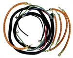 Model T Wiring set, with non-original color spark plug wires. - WS1