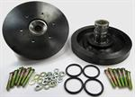 Model T Safety Floating Hubs with NEW Heavy Duty Brake Drums - 2508SDR