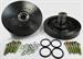 Model T Safety Floating Hubs with NEW Heavy Duty Large Brake Drums