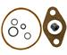 Model T Holley NH gasket set, 7 piece, with neoprene feed pipe gasket