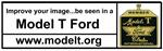 Bumper magnet - Improve your image...be seen in a MODEL T FORD - A-BS-BS