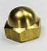 Model T Large brass acorn nut for clamp on mirror 7853B