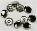 "Model T ""Durable"" Dot fastener, button backing plates, nickel plated - 43005AK"