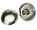 "Model T ""Durable"" Dot fastener, button backing plates, nickel plated"