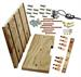 Model T Coil box rebuilding kit, Quality hardwood and hardware